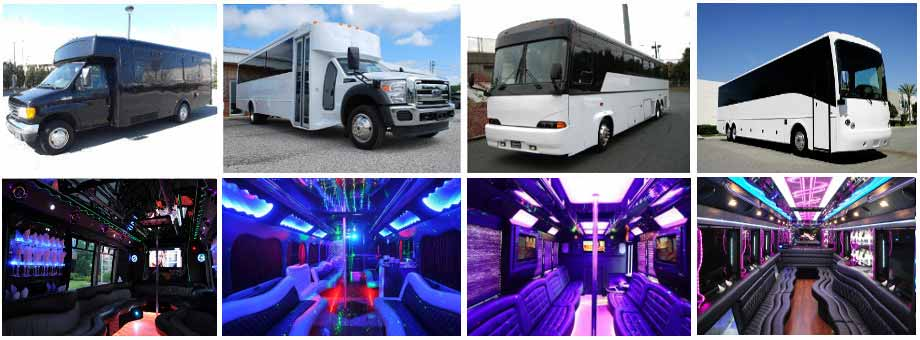 Prom & Homecoming Party buses Fort Myers
