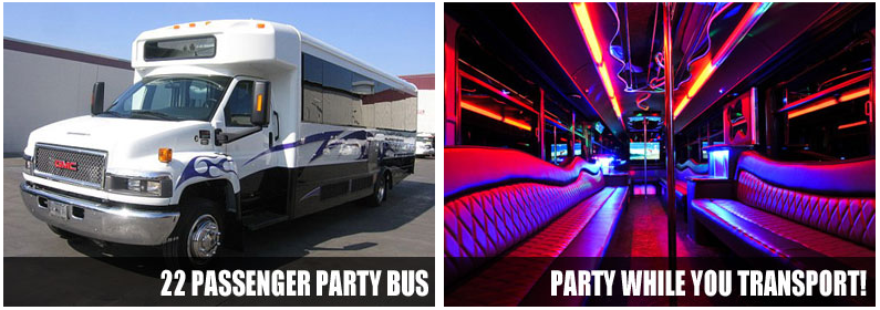 Airport Transportation party bus rentals Fort Myers