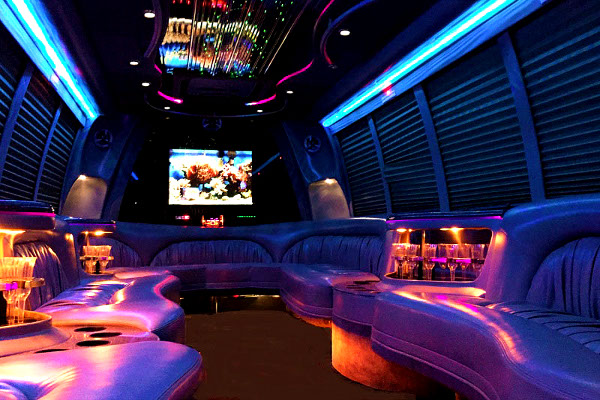 18 Persons Party Buses Interior FT Myers