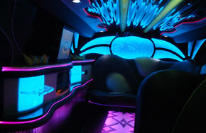 Escalade Limousines Interior FT Myers
