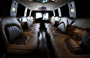 Interior Ford Excursion Limousines Services Fort Myers