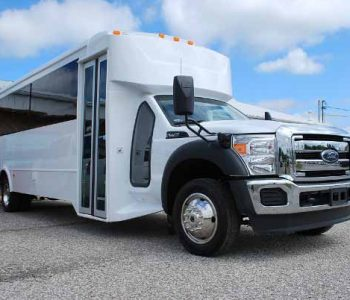 22 Passenger party bus rental Harlem Heights