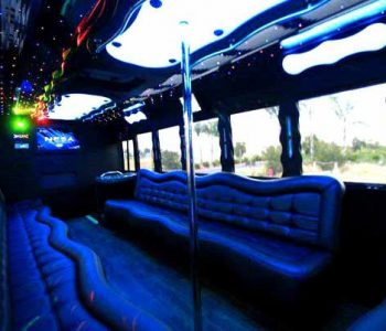 40 people party bus Harlem Heights